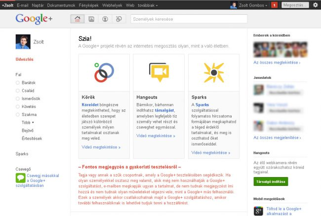 Google Plus  Felhők a közösségi média egén  6cfd0467d3